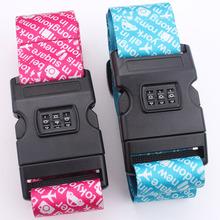 tsa lock luggage belt strap custom made no minimum order quantity