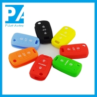 Facttory wholesale exclusive silicone car key remote cover with custom design