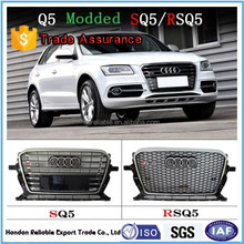 for audi q5 front grille, for audi Q5 SQ5 RSQ5 .2010-2015 for audi Q5 modded SQ5 RSQ5