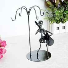 Desktop office supplies home decoration iron man guitar shape metal products hooks fashion creative gift