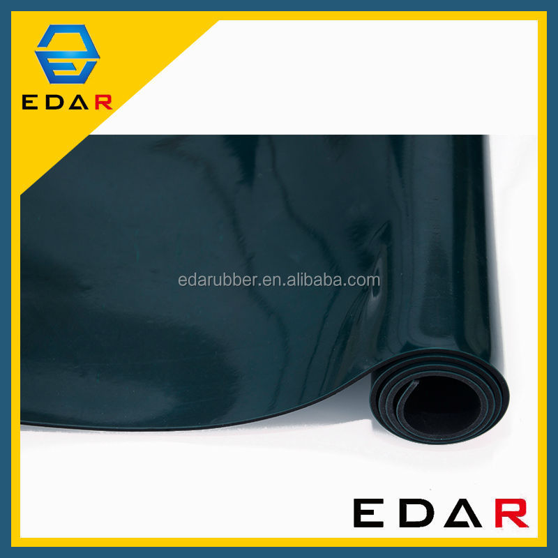 0 5mm Thick Static Dissipative Layer Esd Mat Rubber Sheet