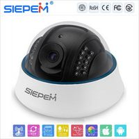 Low price factory direct infrared vandal- ip dome camera/ip camera 3d digital denoise/DHCP ip dome camera with megapixel lens