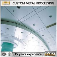 custom high quality metal single panel/aluminum veneer