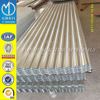 AISI galvalume 600-1025mm corrugated steel metal roofing