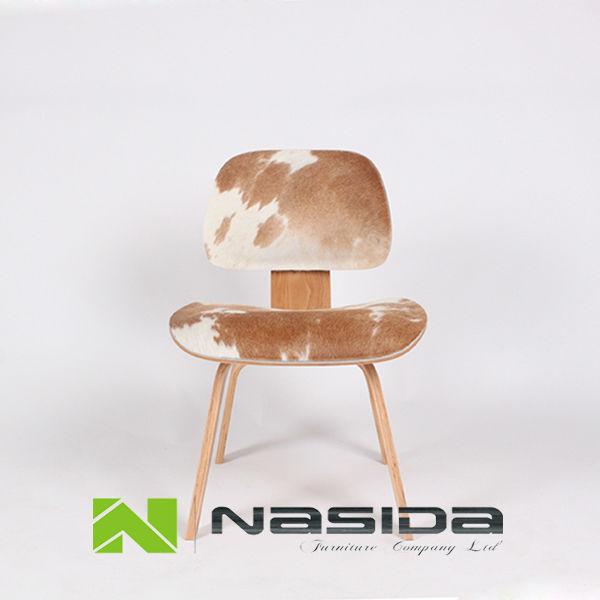R plique ch053 eames chaise en contreplaqu moul en cuir for Replique chaise eames