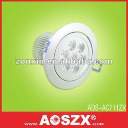 factory supply! cold white 700LM down lamp LED ceiling lights 7w 12 volt ceiling lights