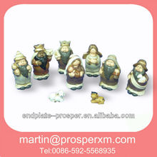 2012 christmas ceramic nativity set