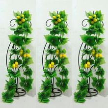 hot selling indoor /ourdoor decorative artificial fake lemon fruit vine for Christmas decoration