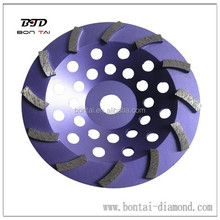 cup-shaped welding grinding wheel for granite, marble concrete polishing