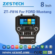 2 din car dvd player tv antenna for FORD Mustang car dvd player multimedia
