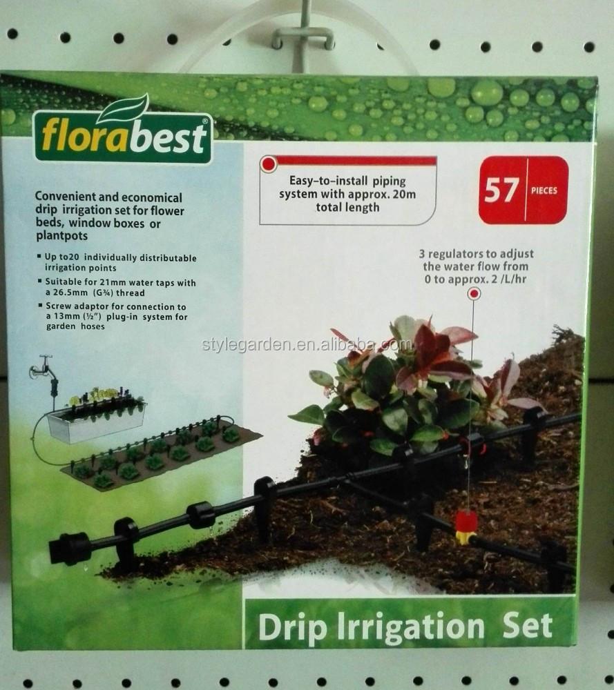 57pcs Home Garden Drip Irrigation System Set Buy Drip