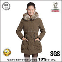 Cashmere Wool Coat For Woman Long Jacket, Women Winter Coat