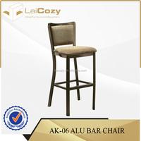 Banqueting aluminium dining baby chairs/ banquet baby sitting chairs/ hotel dining baby chair
