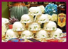 """bone china 4.5"""" salad bowl/soup bowl/bowl set"""