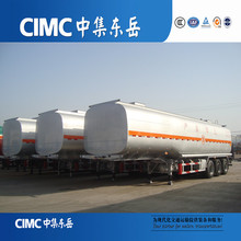 CIMC fuel tanker price , tractor stainless steel oil tanks , fuel delievry tank truck