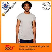 custom plain fitness tshirt cheapest Oversized t shirt wholesale bulk bamboo t-shirts In Beige import china goods