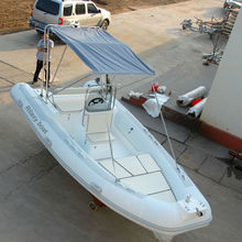 CE certificated rib 5.5m inflatable boat fishing