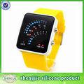 Correa de silicona reloj/banda reloj/reloj digital con china la fabricación del producto