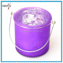 Wedding Decoration Damask Traditions Frosted Glass Candle Holder