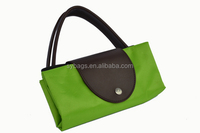 Folding environmental shopping bags / factory supply beautiful fashion shopping bag / foldable reusable shopping bag