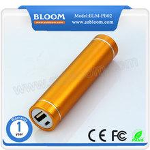 portable power bank, 2600mah power bank, huge capacity mobile power bank for Iphone 6 USB charger
