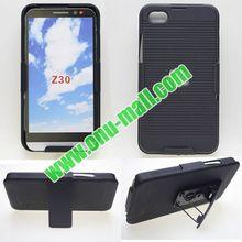 OEM Welcomed Factory Price 2-in-1 Hybrid Holster Case for Blackberry Z30