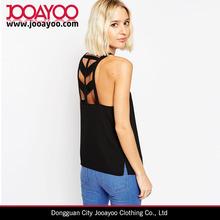 Mulheres de roupas por atacado gola alta com tiras Cami Top fantasia Saree blusa Designs
