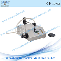 Small plastic bottle packaging filling machine