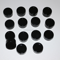 Black color 5ml silicone wax jar custom silicone rubber container silicone essential oil container for oil concentrate shatter