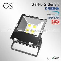 Spainish customer give a big order epistar/bridgelux ip65 AC110V 70w high lumen led floodlight stainless steel outdoor building