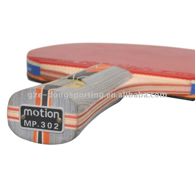 Pelota de tenis de mesa raqueta de goma