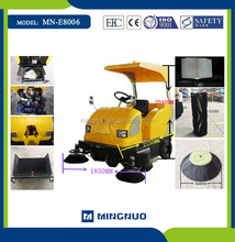 CE Standard European MN-E8006 Water tank sweeping vehicle ,battery operated garbage collection equipment