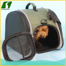 Eco-Friendly fashionable dog shoulder pet travel bag