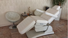 MA-8677 commercial massage chair electric facial bed 3 motors adjustable table with CE