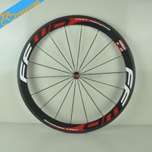 Superventas 50MM carbono FFWD ruedas de ruedas de bicicleta de ruta de carbono de peso ligero