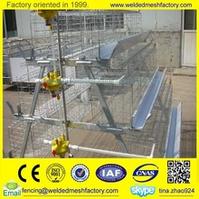 Egg/broiler layer chicken cages welded wire mesh