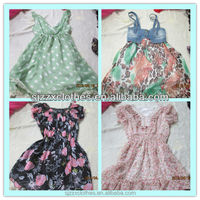 hot sale used clothes lady dress low price