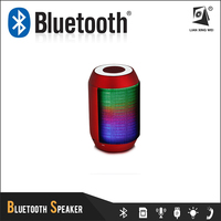 disco light bluetooth speaker with tf card and fm radio