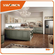 Sample available factory directly top quality beech wood kitchen furniture