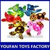 colorful animal stuffed plush big eyes turtle toy