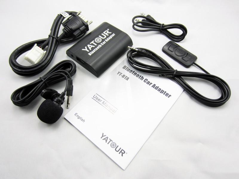 yatour fabrication usb chargeur mp3 bluetooth adaptateur pour autoradio lecteur cd d 39 automobile. Black Bedroom Furniture Sets. Home Design Ideas