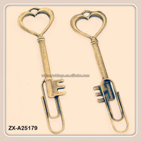 Mini Antique Bronze Key Book Lovers Collection Bookmark Wedding Favors