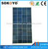 Economical high efficiency 5W to 320W cheap solar panel price