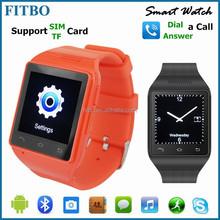 Elegant Professional SIM BT TF OEM wifi wrist watch cell phone for xiaomi
