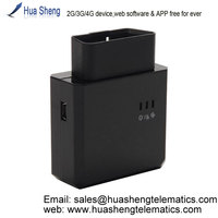 free software gps/gsm/gprs sim card tracker [2G, 3G, 4G] support OBD II, canbus
