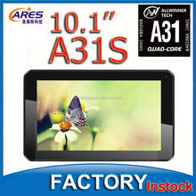 Cheap Quad core MID PC Allwinner A31S Tablet PC Android