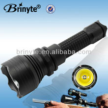 Super Brightness Rechargeable LED Police Equipment Torch Light