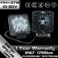 alibaba best seller New 27w car led tuning light/led work light