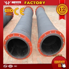 Quality First Industrial flexible rubber cement suction discharge hose