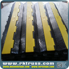 RK ramp for car lift/China rubber cable protector manufacturer/heavy duty cable ramp